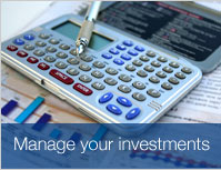 Manage your investments