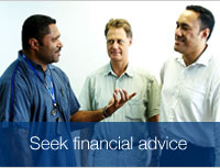 Seek Financial advice